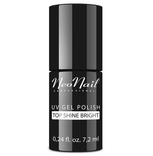 NeoNail gel lak 7,2 ml - Top Shine Bright