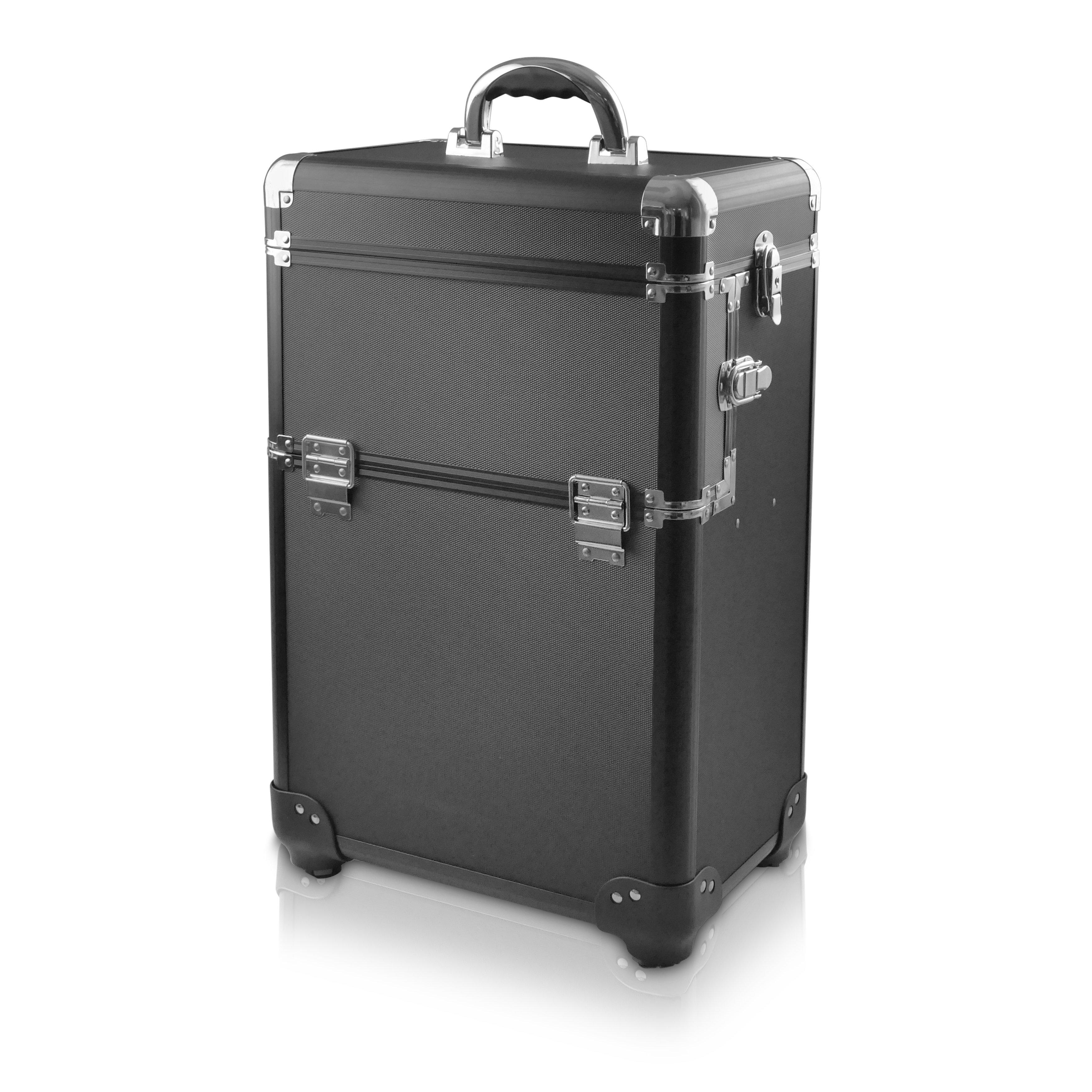 NANI kosmetický kufřík na kolečkách NN31 - Black