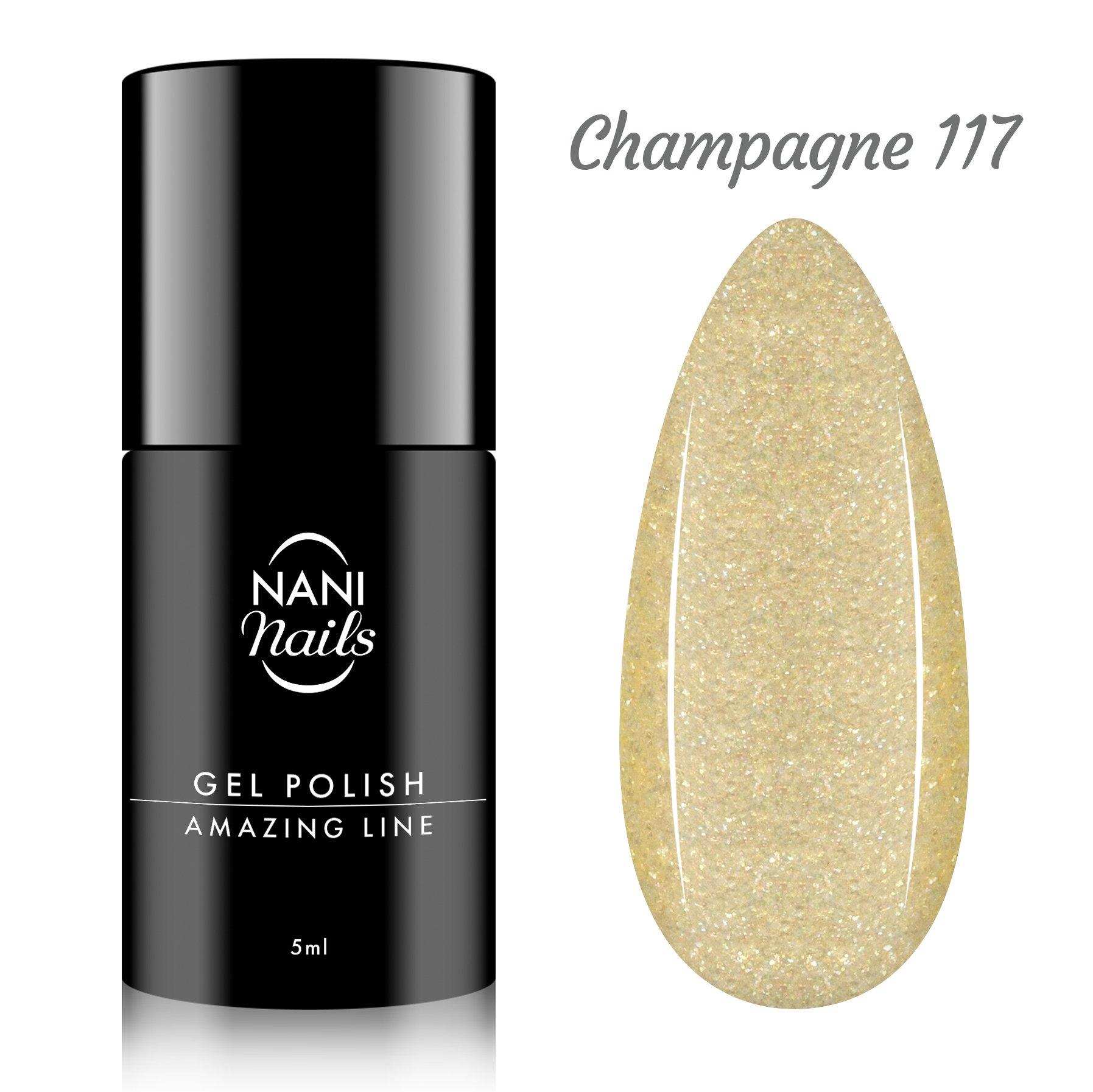 NANI gel lak Amazing Line 5 ml - Champagne