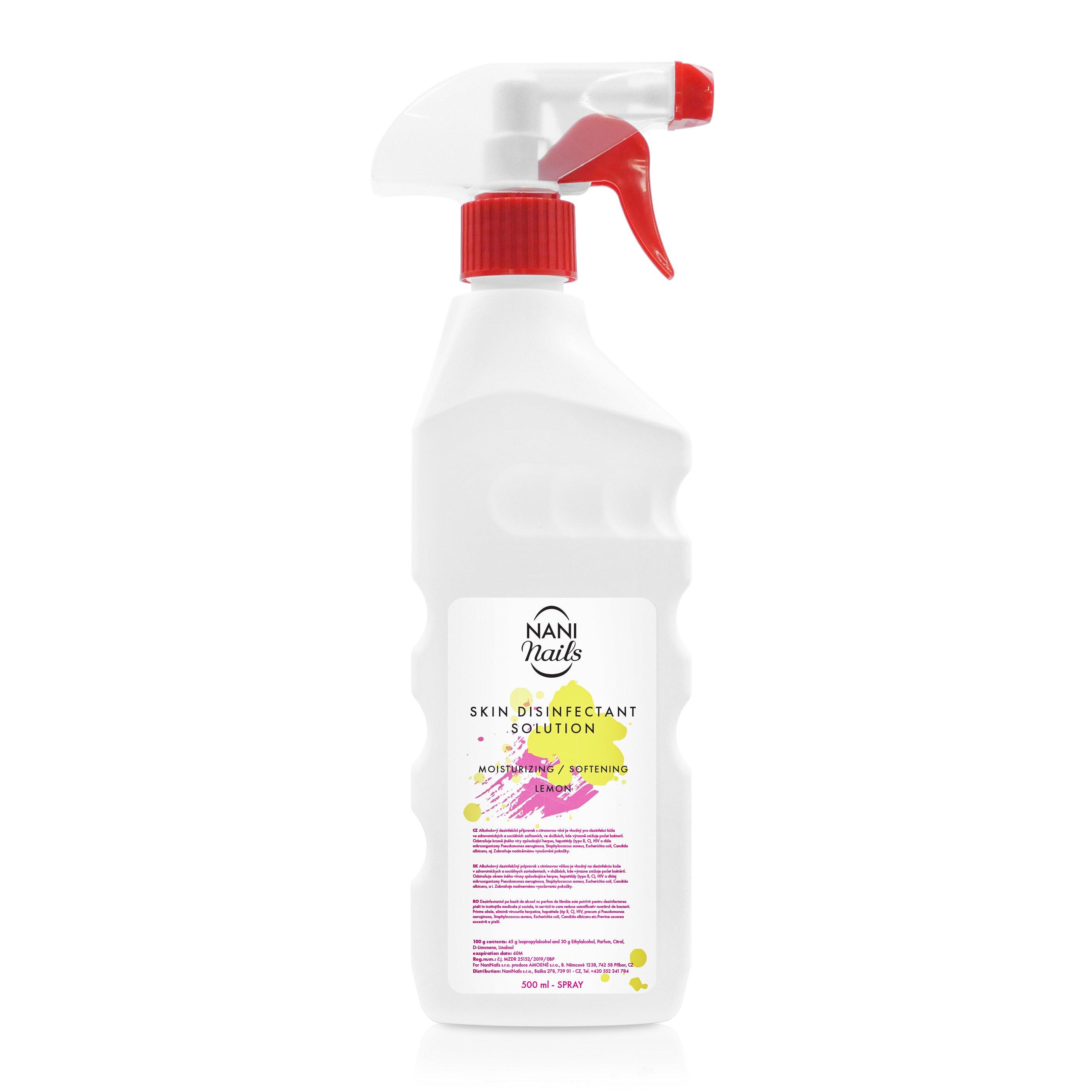 NANI Lavosept dezinfekce na ruce 500 ml - Lemon