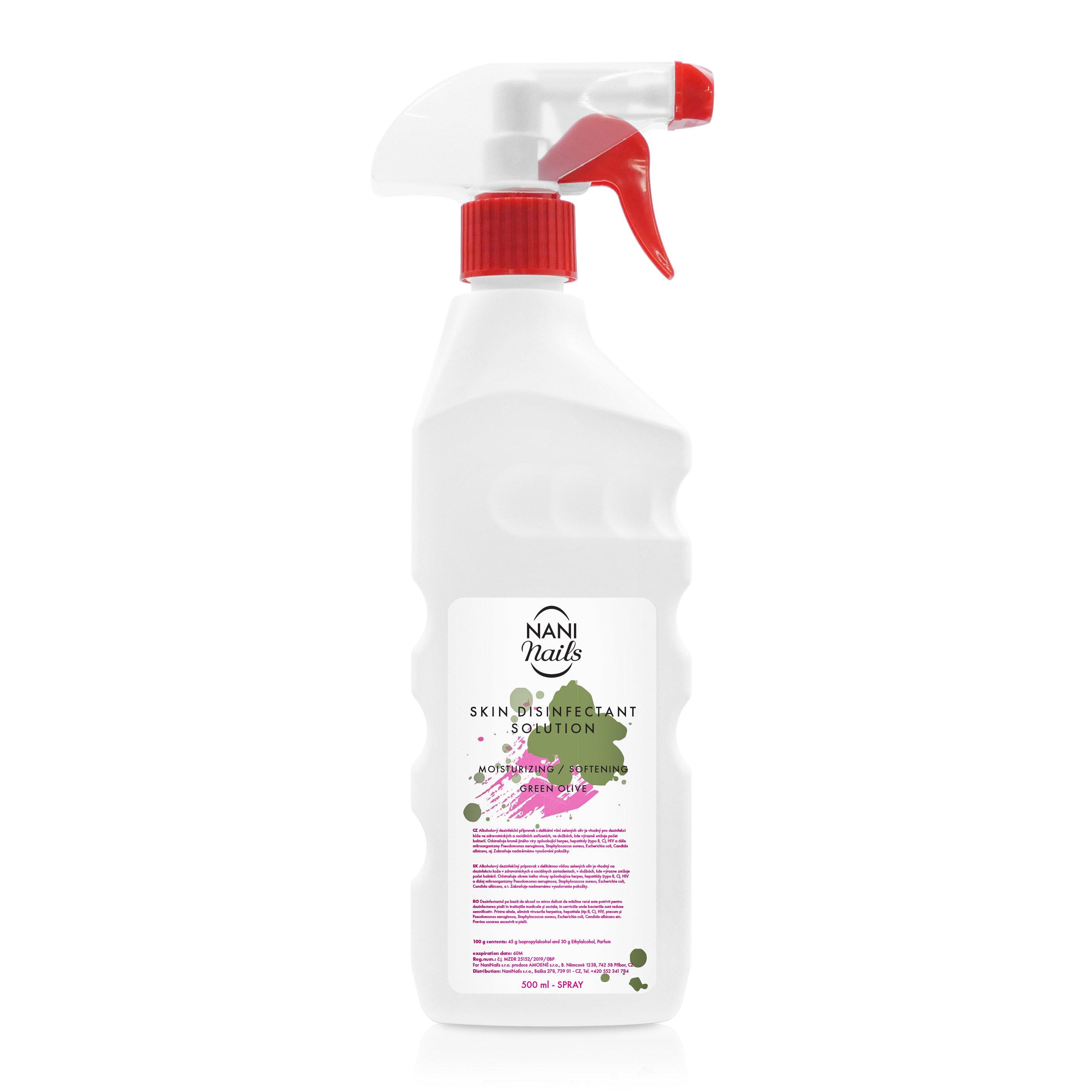 NANI Lavosept dezinfekce na ruce 500 ml - Green Olive